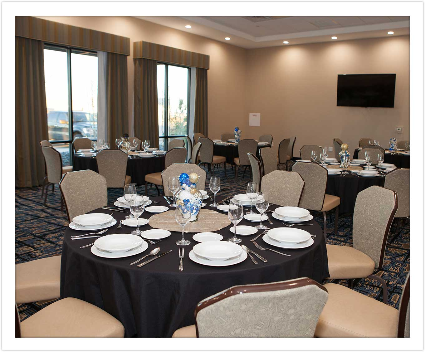 Wedding Conference Room at Arbor Hotel and Conference Center Lubbock Texas