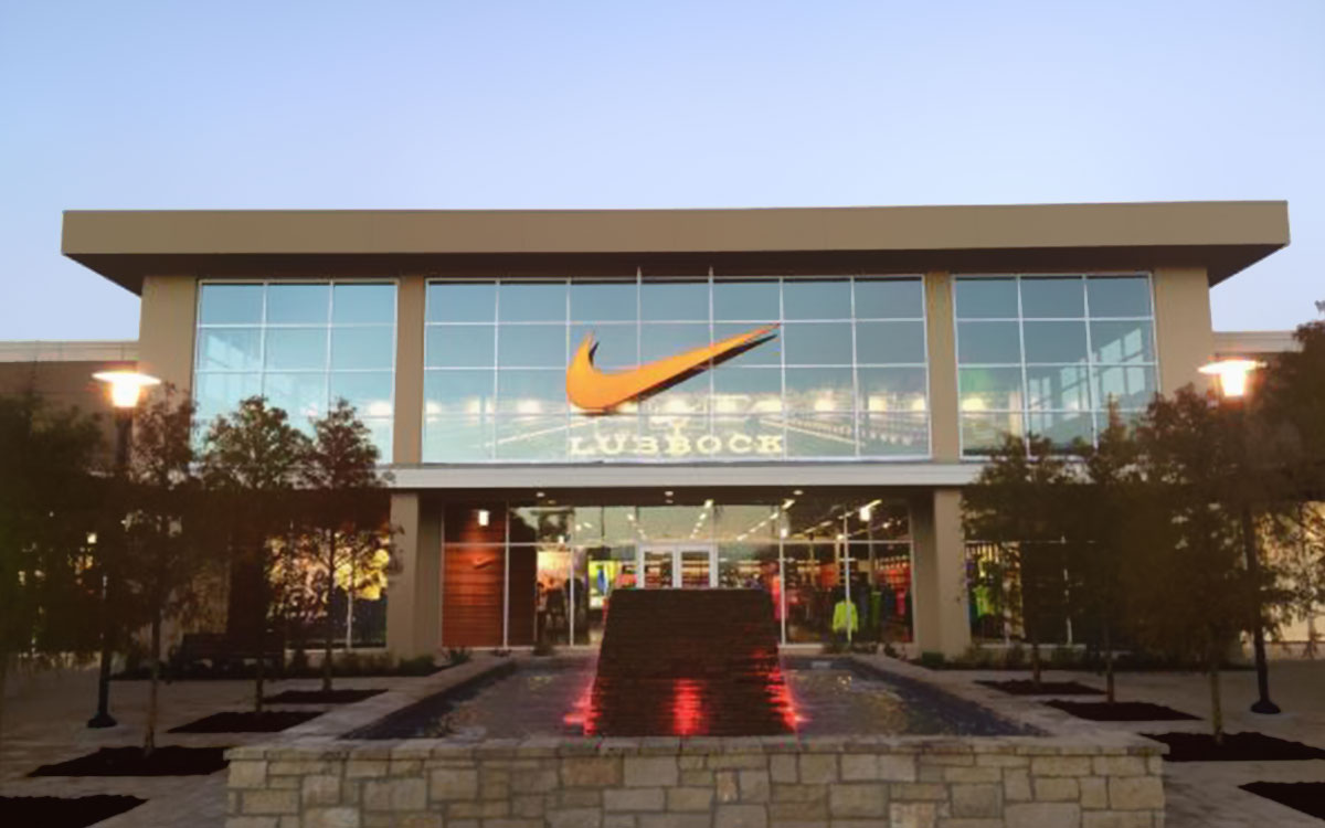 Nike at the West End Shopping Lubbock