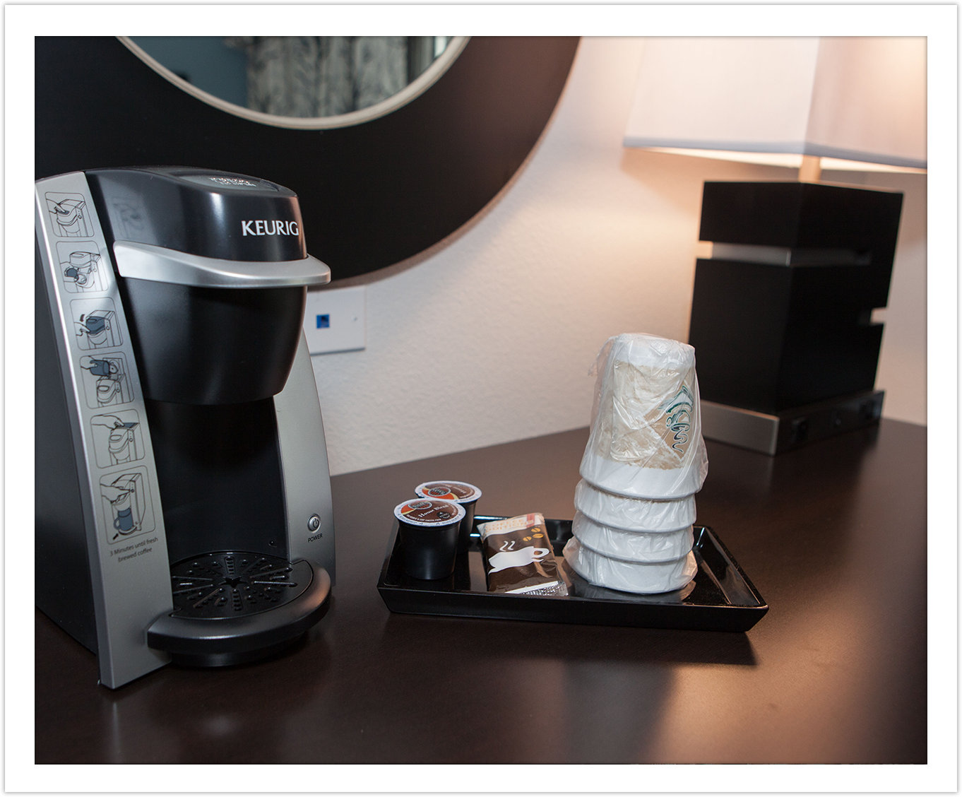 Keurig Coffee Maker at Arbor Hotel & Conference Center