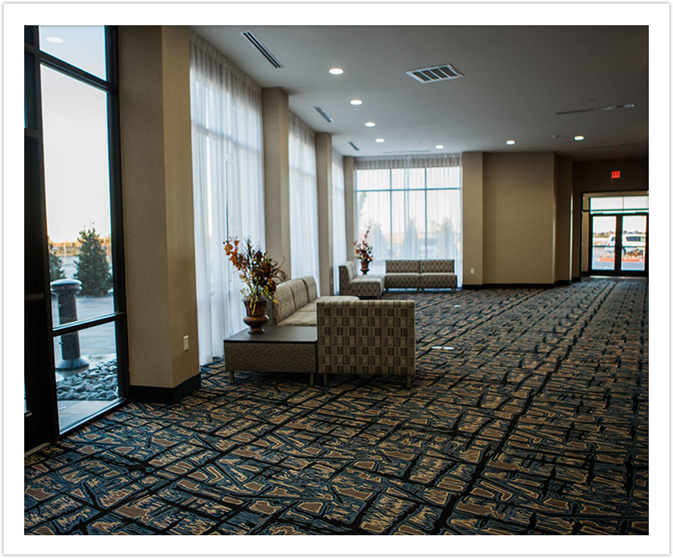 Pre-Function Space at Arbor Hotel and Conference Center Lubbock Texas