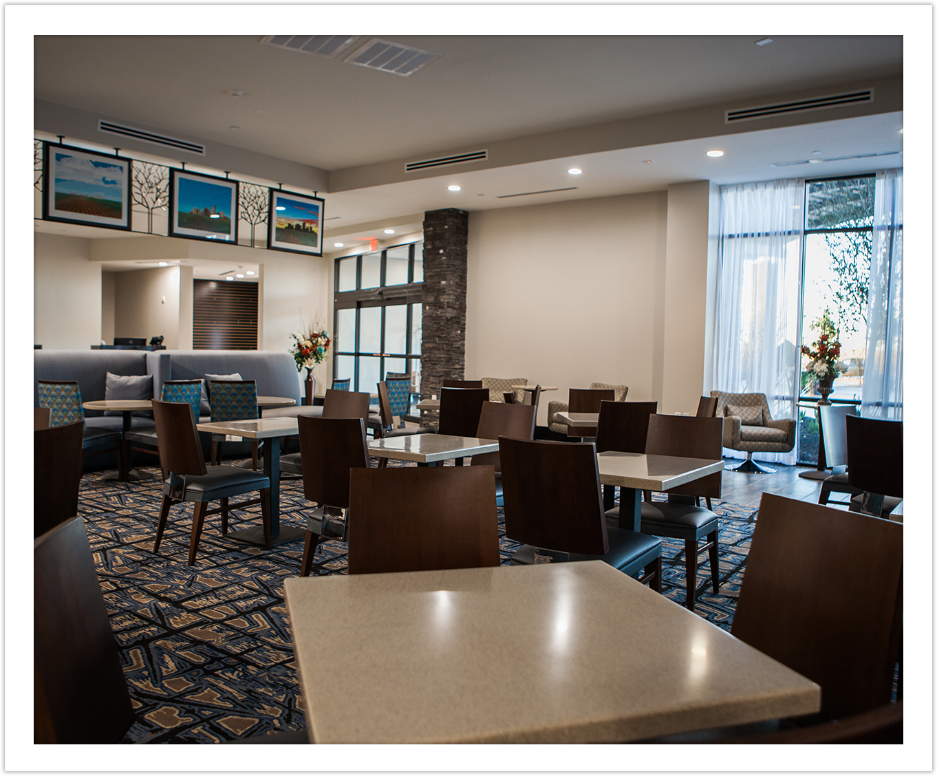 Image of Dining Area at Arbor Hotel and Conference Center Lubbock Texas