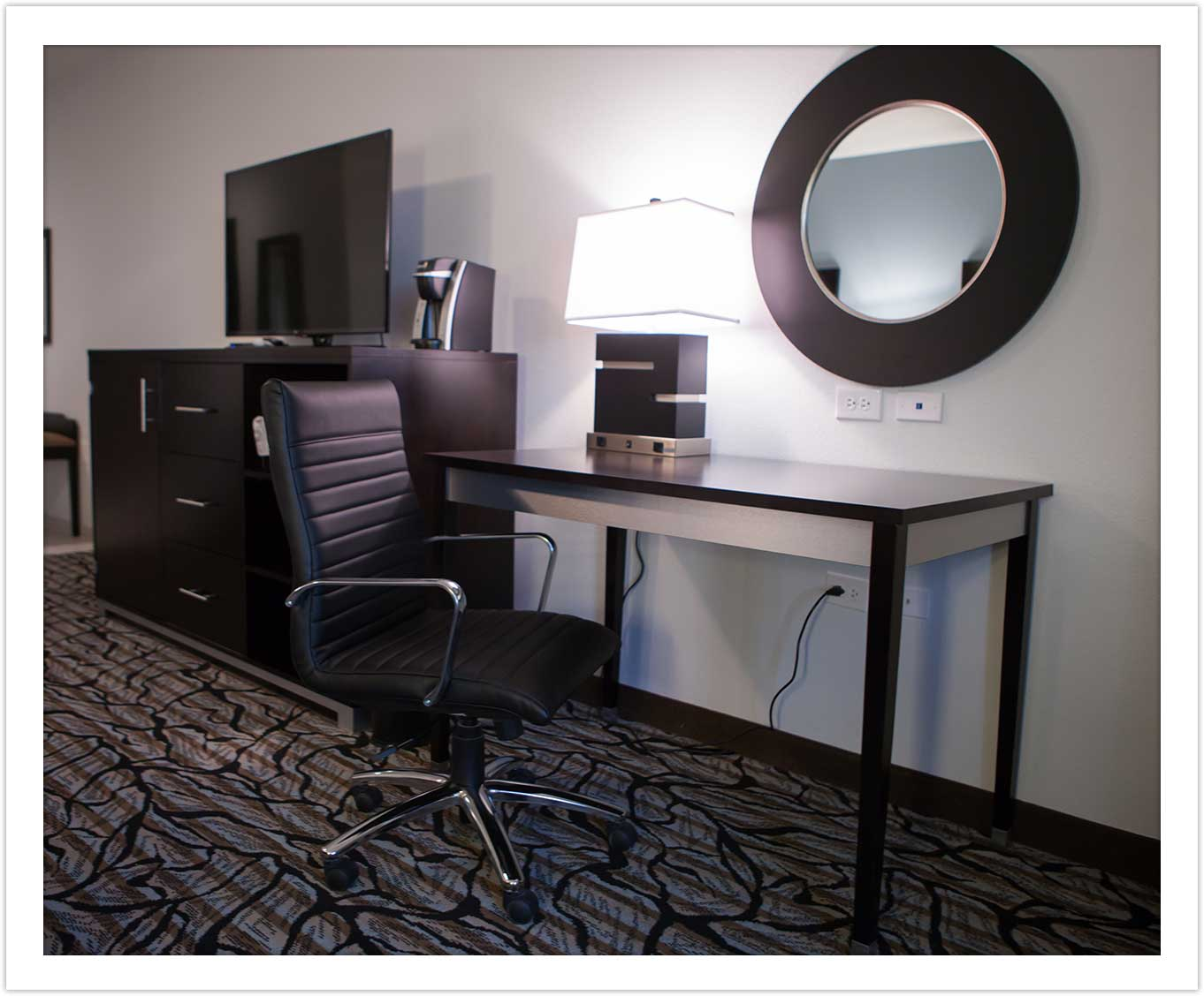Modern Business Amenities at Arbor Hotel and Conference Center Lubbock Texas